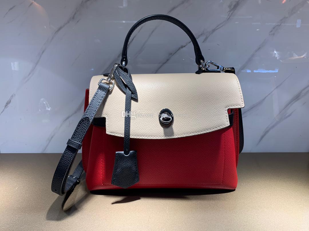 Borsa borsa in pelle di alta qualità enuine LOCKME MAI BB signora handba Trendy borsa a tracolla donna cross body bag spalla donna con il contenitore B022