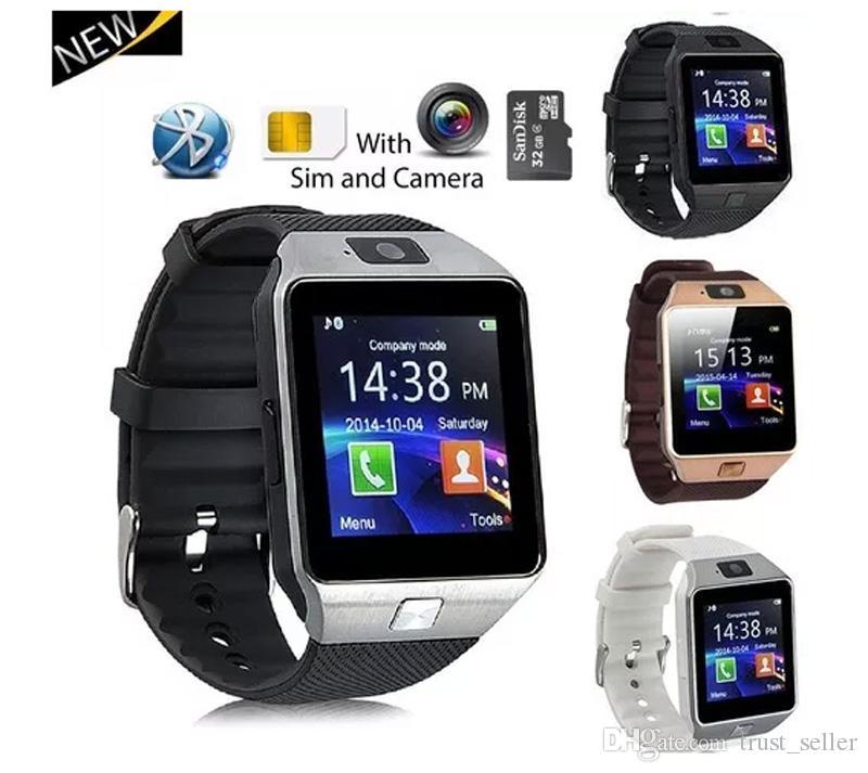 DZ09 Smartwatch Android GT08 U8 A1 Akıllı İzle Bileklik SIM Akıllı Cep Telefonu İzle Can Tutanak Uyku Devlet