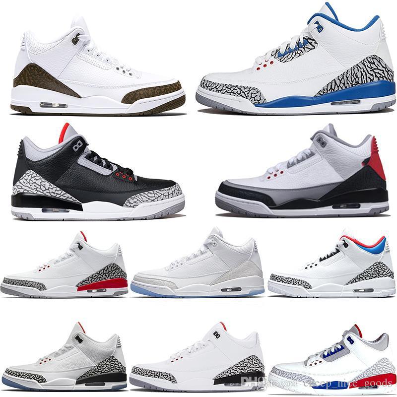 Men Designer Basketball Shoes Mocha Katrina Tinker JTH NRG Free Throw Line Black Cement Korea Pure White Trainer Sport Sneaker Size 41-47