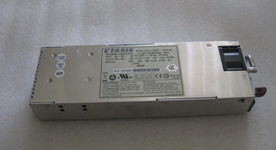 EFRP-300 300 W% 100 çalışma güç kaynağı olarak test