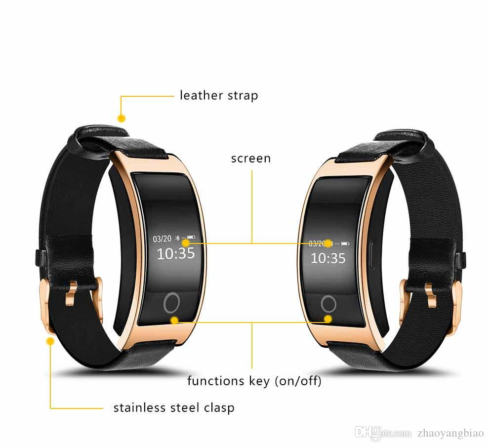 CK11S Smart-Band-Blutdruck-Sauerstoff-Puls-Monitor-Smart-Armband Pedometer IP67 Wasserdicht