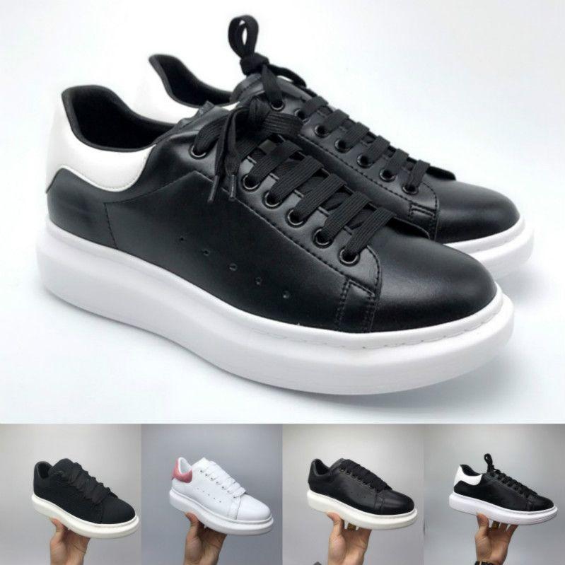 Luxury Designer Hommes Femmes Chaussures femmes filles en cuir bride Enveloppez Chaussures Casual Classique Balck hommes Pure White femmes shoes01