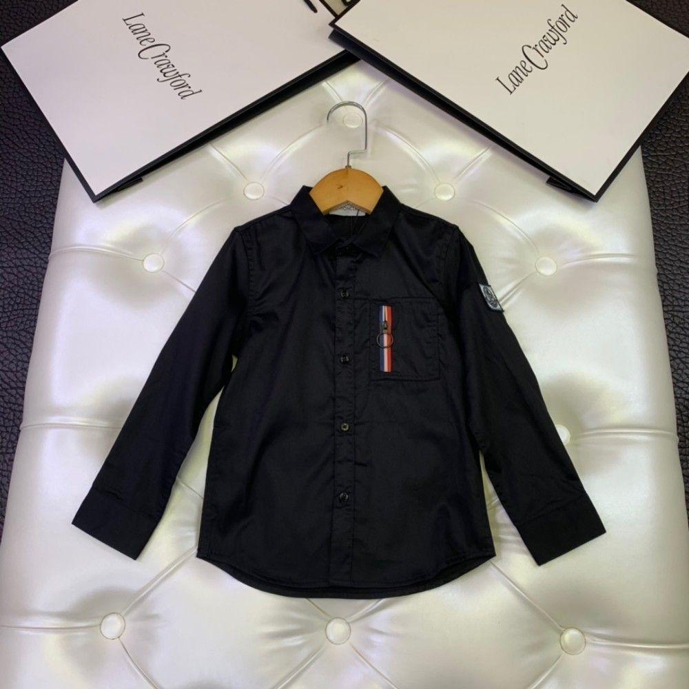 Boy shirt kids design clothes autumn fashion pure color shirt texture delicate cotton fabric shirt size 110-160cm