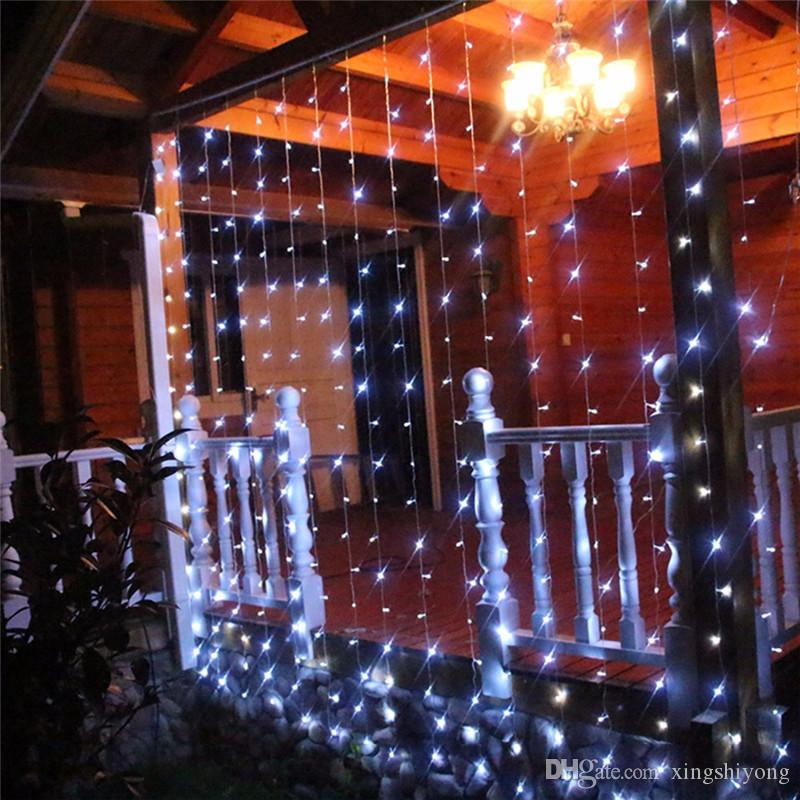 10 * 3M 1000 Bulbs LED Curtain Fairy Lights Decoration For Wedding Holiday Party Xmas Christmas Garland String Lights EU/US/UK/AU Plug
