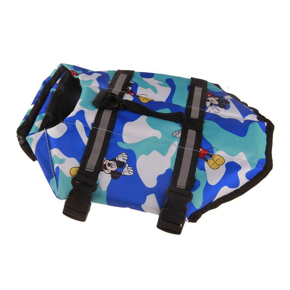Suministros cómoda chaqueta de invierno La vida del perro portátil grande flotabilidad flotador de la natación chaleco de seguridad para mascotas chaleco del animal doméstico