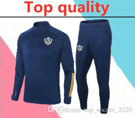 En kaliteli 2020 Los Angeles Galaxy yetişkin futbol Eşofman 2019 2020 LA Galaxy Chicharito chándal futbol antrenman takım