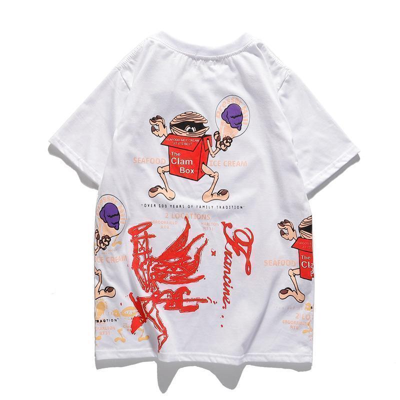 2020 новые мужские футболки летом я чувствую, как Пабло Tee коротким рукавом O-образным вырезом майка Kanye West Письмо печати вскользь тройники мужской clothinge1c62 #