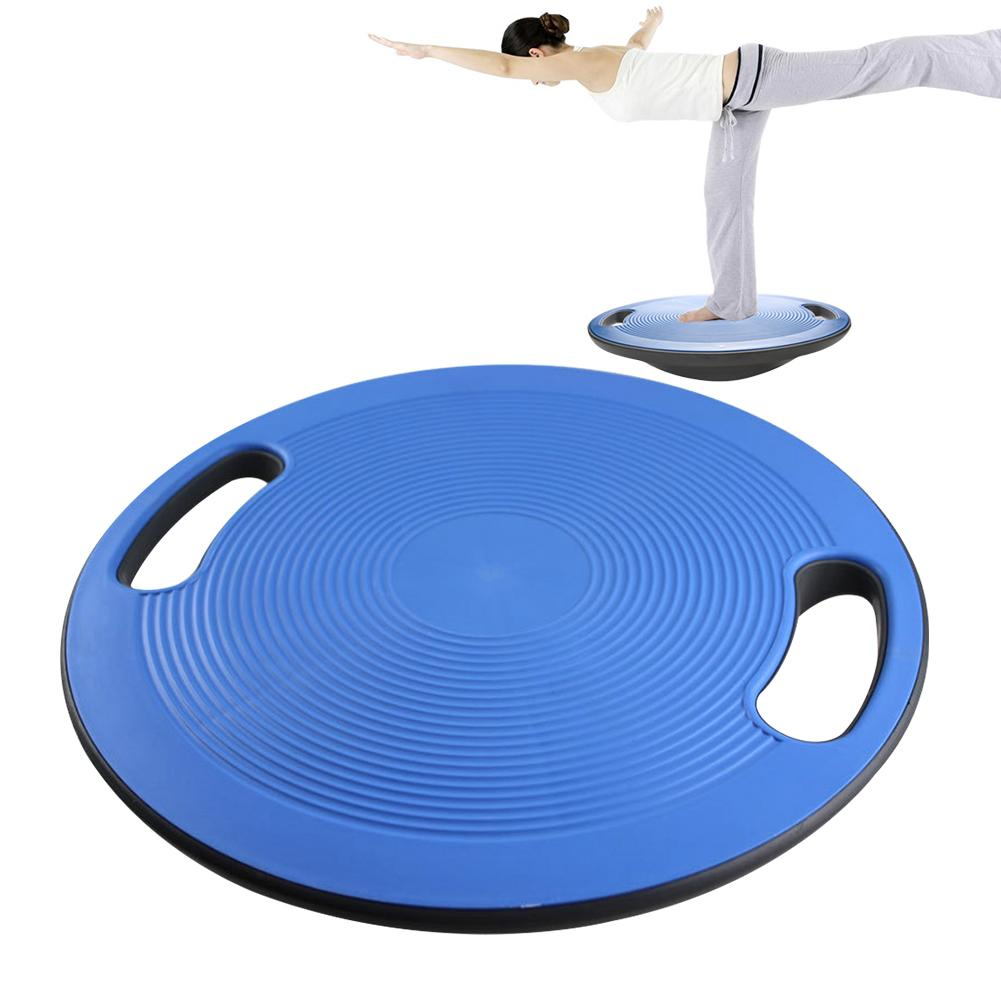 Yoga Training Recovery Balance Board Non Slip Waist Twisting Gym Strong Bearing Round Plate Wobble Exerciser Stable Disc Sports