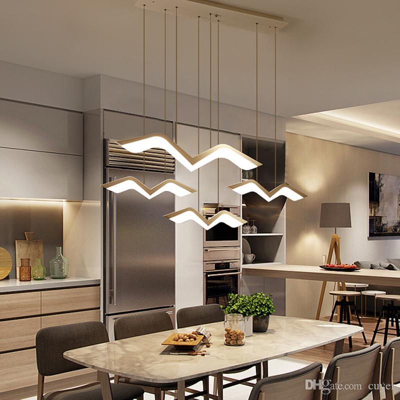 Современные светодиодные подвесные светильники для столовой гостиной бар подвесной светильник suspendu светильники подвесной светильник