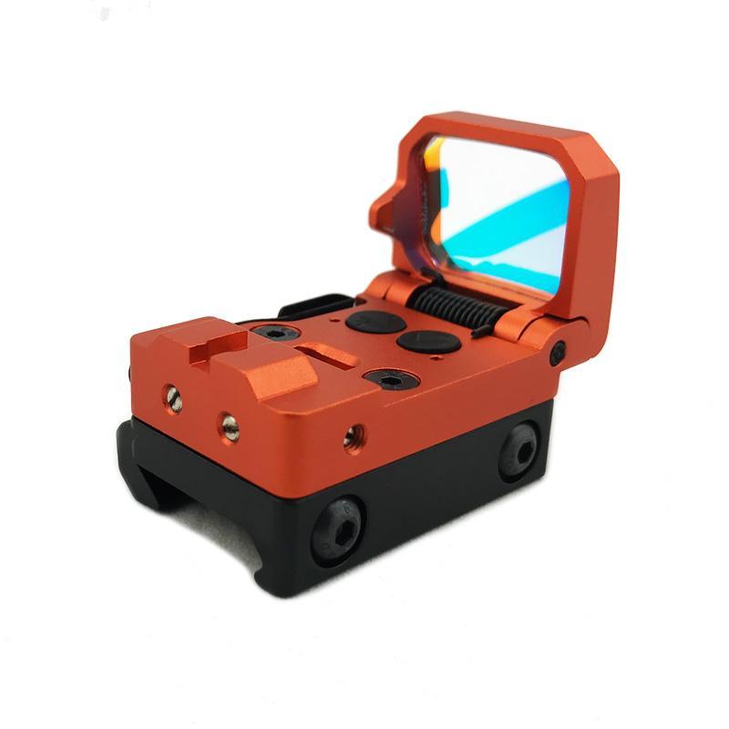 Neue RMT Flip Red Dot Sight Jagd Holographische Reflexklappkop mit 20mm Picatinny Mount