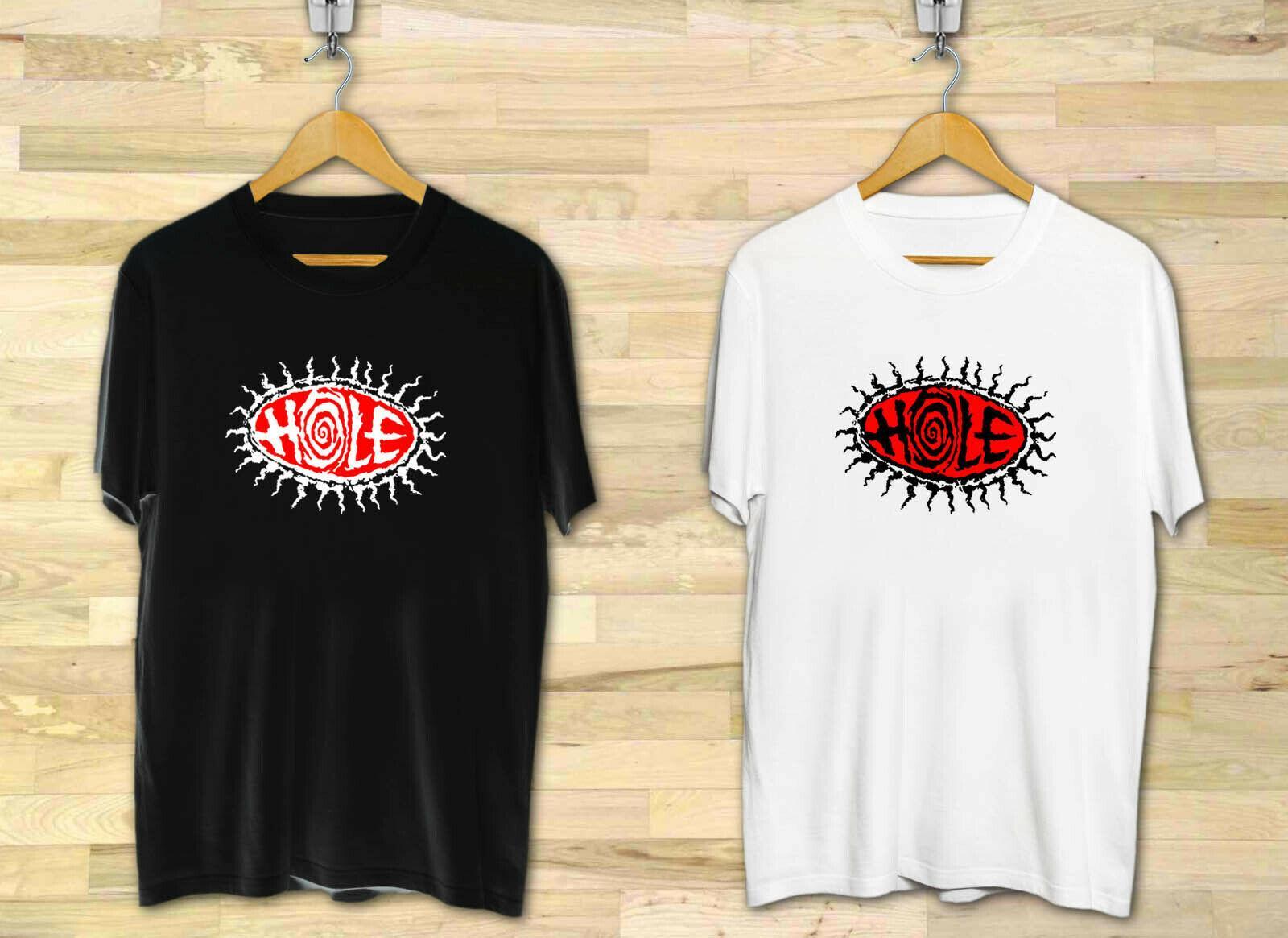 New Hole 90/'s Alternative Rock Band Men/'s Black T-Shirt Size S to 3XL
