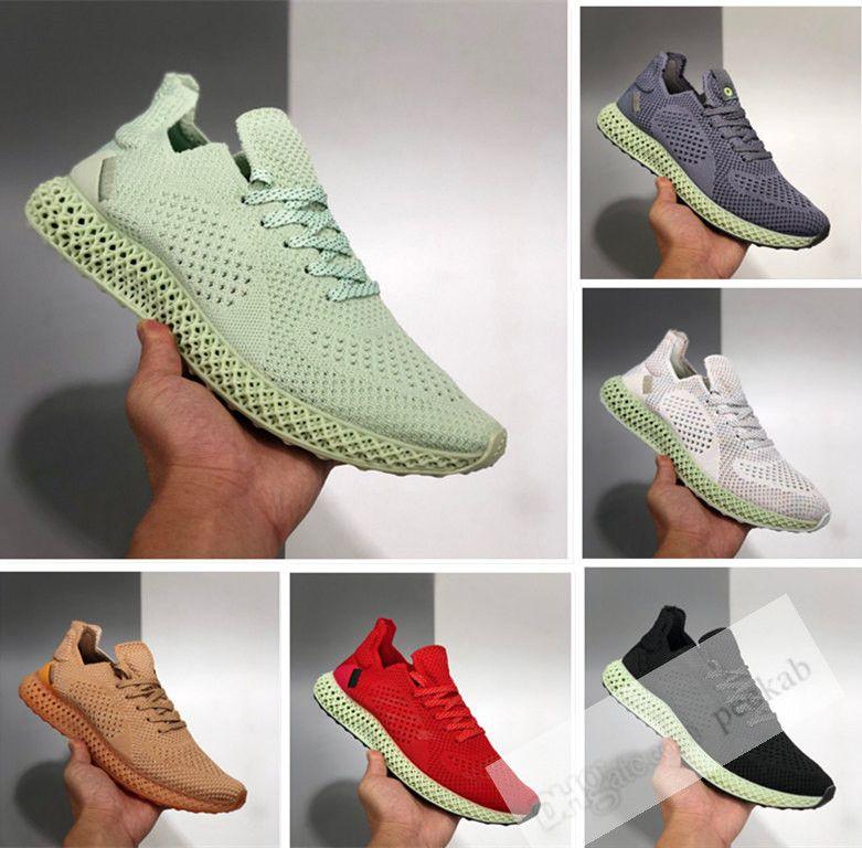 Futurecraft 4d Runner donne Mens Daniel Arsham scarpe da ginnastica di moda Alphaedge 4D Ash Onix Aero Sport Sneakers Trainer Shoes 36-45 Esecuzione