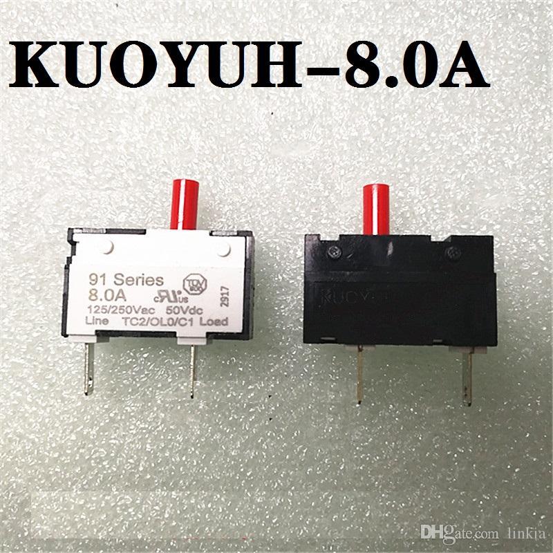 Taiwan KUOYUH protezione da sovraccarico di corrente 91 Series 8.0A protezione dello strumento