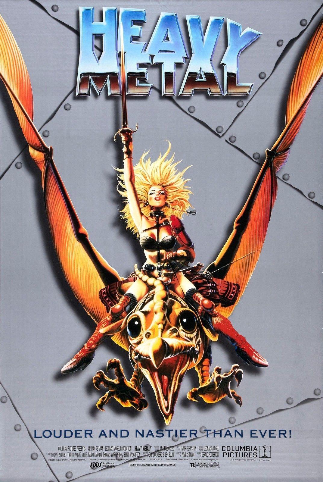 HEAVY METAL Movie Art Silk Poster 24x36inch 24x43inch 1249