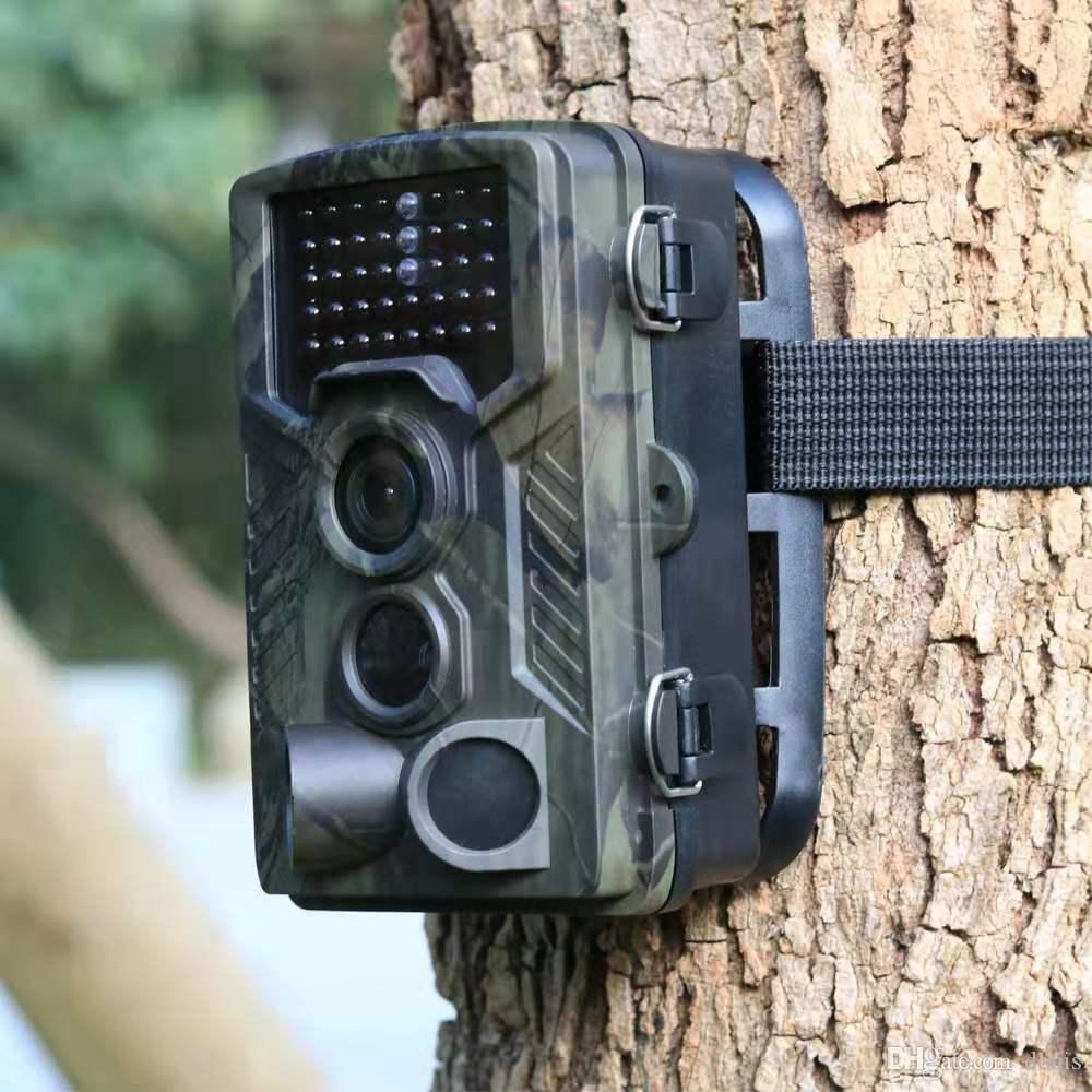Vente en gros 12MP 1080P Caméra de chasse tactique Trail infrarouge Jeu antipoussière précis pour la chasse camping en plein air Caméra Chasse étanche