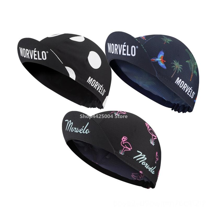 NEW Morvelo Hat Bike Ciclismo Bicicleta Pirate Headband Cap Bicycle Helmet sweat cap men head scarf 2019 Cycling Protective Gear Cycling