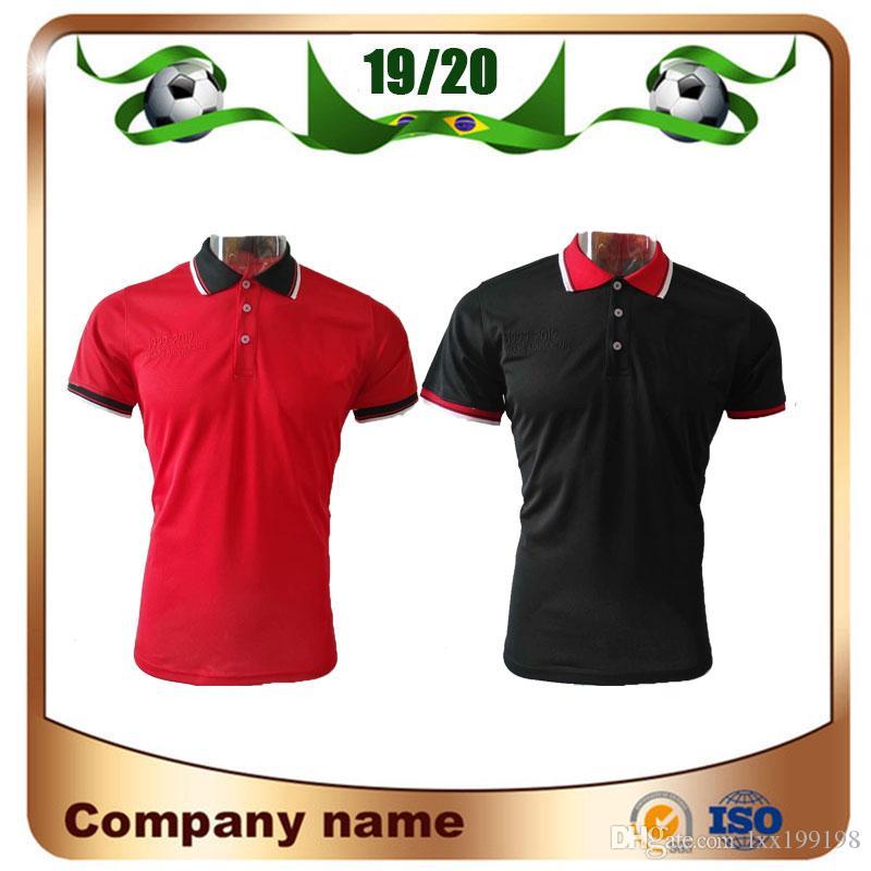 1999/2019 United polo futebol jersey 2019 manchester vermelho pogba lukaku polo camisa preta lingard mata futebol polo