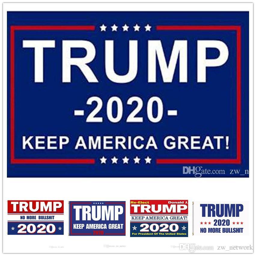 Donald Trump 2020 Flags Trump 2020 Haltungsart amerikanischen Great Again Flag Banner USA President Trump Wahl Flags 90 * 150cm