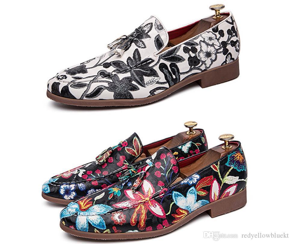 2019 мужской роскошный дизайнер бархат вышивка змея джентльмен оксфорды обувь платье возвращения на родину человек свадебные туфли выпускного вечера zapatos hombre