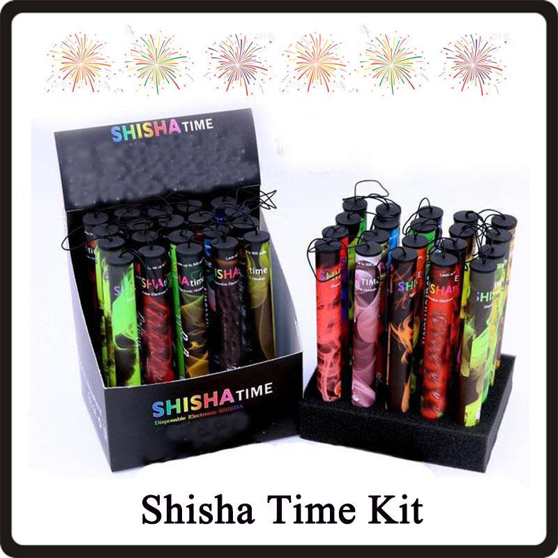 Shisha pen Eshisha Disposable Electronic cigarettes shisha time E cigs 500 puffs 41 types Hookah pen VS Puff Bar POP Bar Kit DHL Free