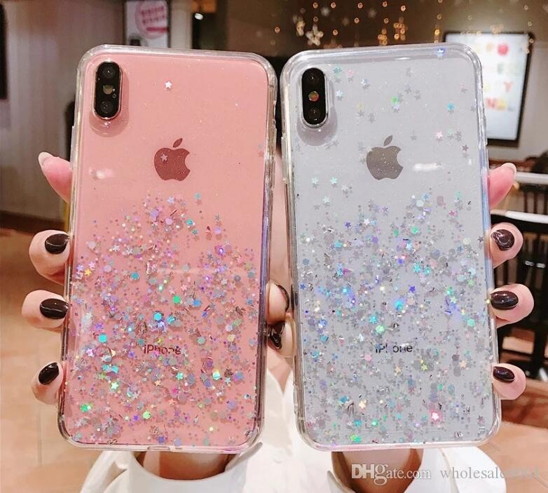 Epoxi simple brillo XS MAX Mobile Shell Apple para el iPhone 11 accesorios para teléfonos móviles transparentes max PRO