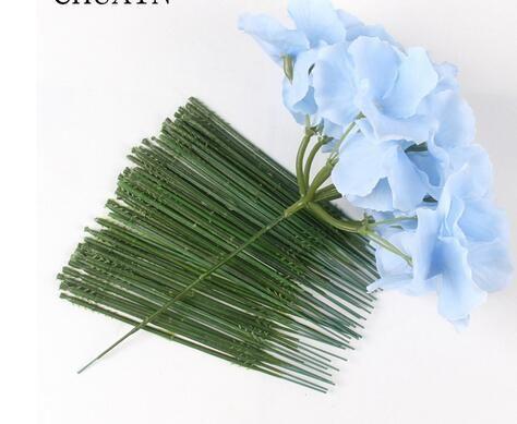 200 шт. 13 см цветок стебель для гортензии роза пион цветок настенный шар для украшения свадьбы аксессуары диаметр 2 мм