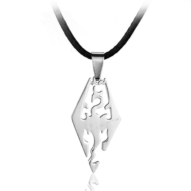 2pc New Fashion Supernatural Dean License Pentagram Plate Pendant Collier Zinc Alloy Vintage Necklace For fans Souvenir Gifts