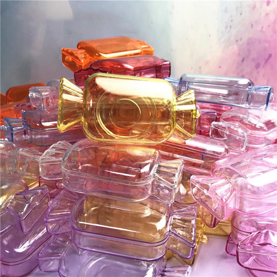صناديق حلوى لطيف المنك جلدة صناديق الحلوى الرموش الصناعية تغليف صندوق إفراغ جلدة حالة مربع التعبئة لالماكياج. RRA3051