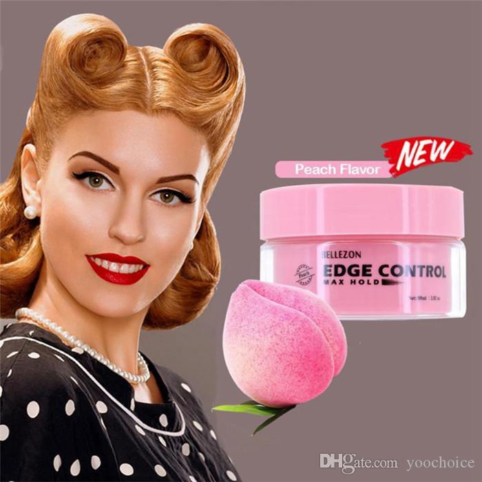 Волни для волос Воск Крем Edge Control 80ML Укладки для волос Для Мужчин Женщин Сломанные Волосы Окончательные Анти-Фризз Гель 6 шт.