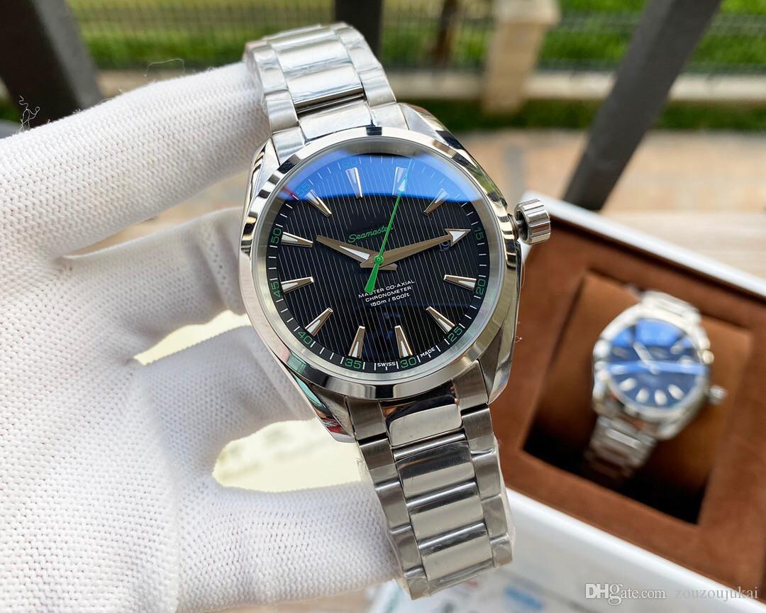 2020 high quality aqua terra 150M mens Watches james bond 007 Watch watchomega seamaster00 watch [not off shed wool] D2692