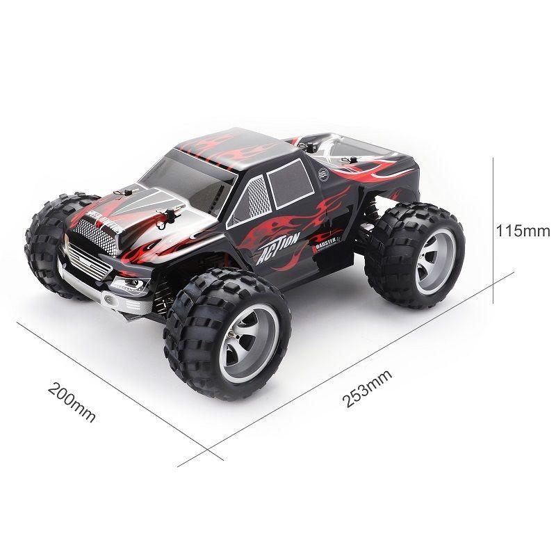 RC WLtoys A979 1/18 4WD سباق الطرق الوعرة تحكم 2.4GHZ لسباق السيارات عن بعد راديو التحكم عالي السرعة شاحنة عربة Y200414