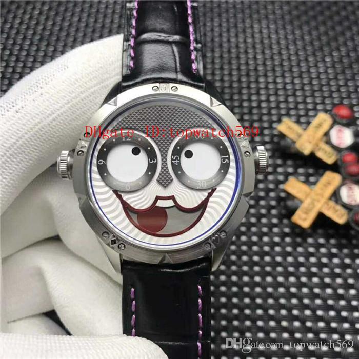 Reloj para hombre Top Konstantin Chaykin reloj de cuarzo suizo Cristal de zafiro Movimiento CNC 316L de acero súper resistente al agua Italia correa de cuero