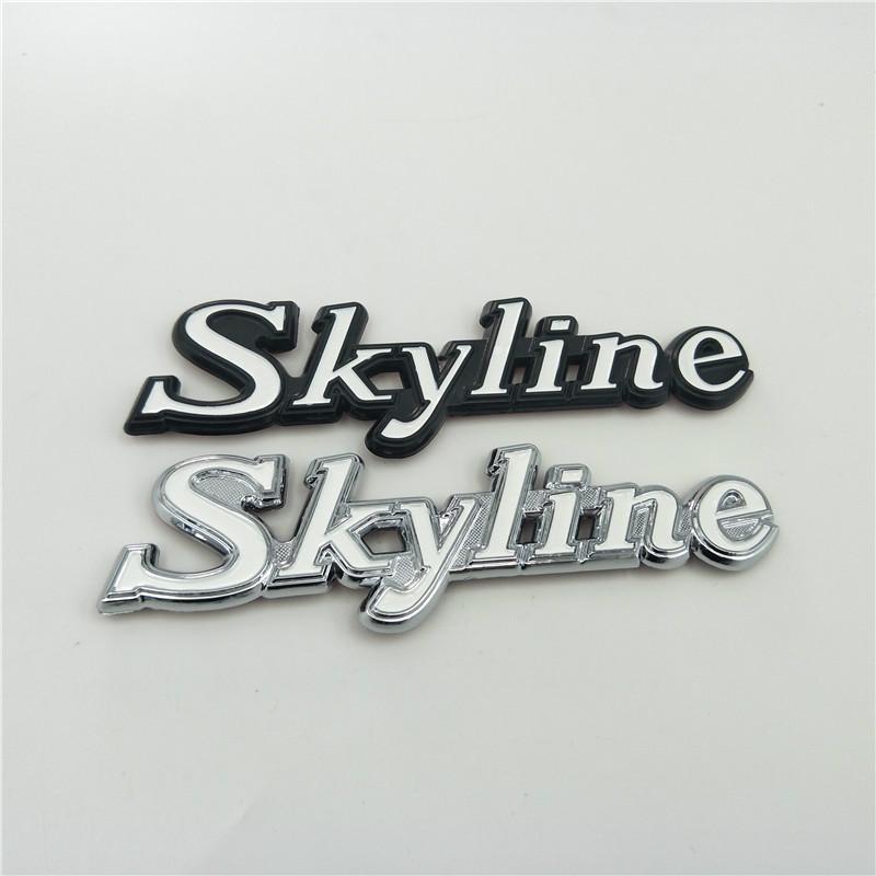 Per Nissan GTR Skyline emblema distintivo logo posteriore del tronco laterale Fender Targhetta C110 KPGC110 GC110 Kenmeri