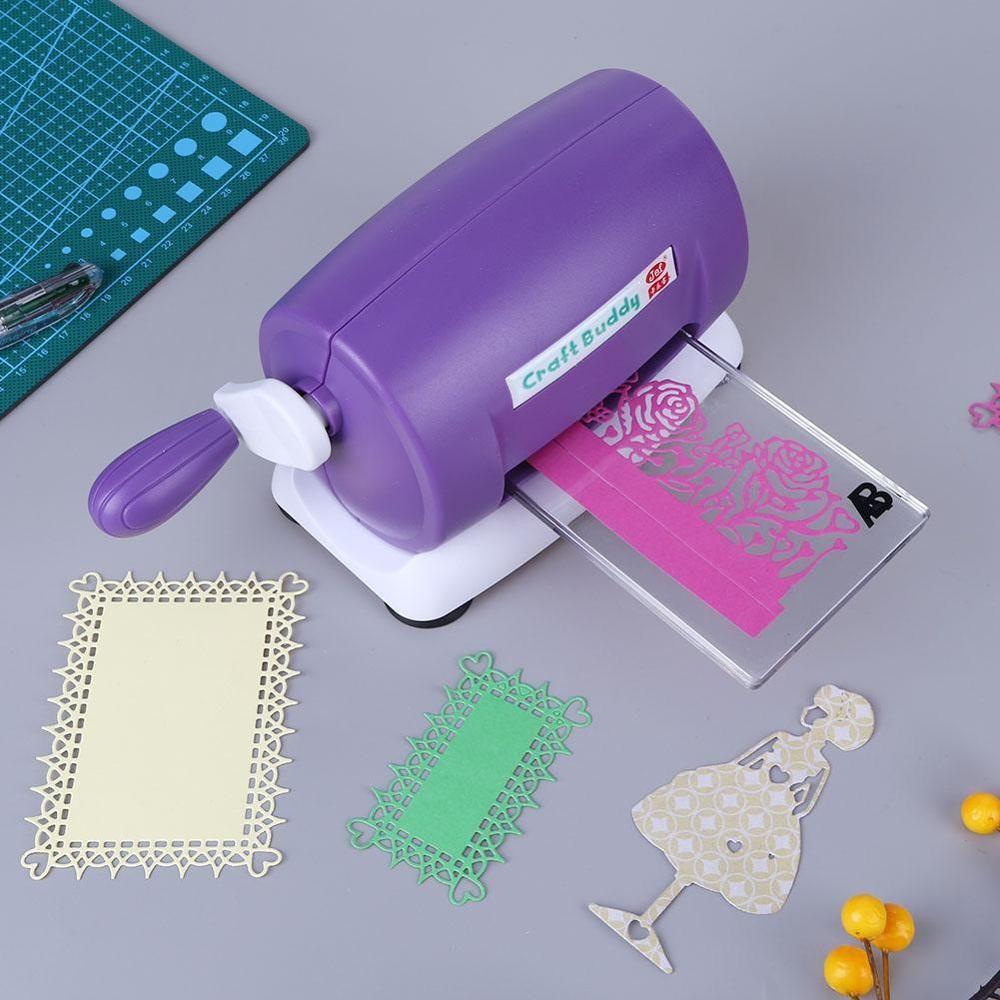 Die-Cut s macchina di goffratura Scrapbooking Cutter Dies Macchina della carta di carta che fanno l'attrezzo del mestiere Fustellato della casa della macchina utensile di goffratura