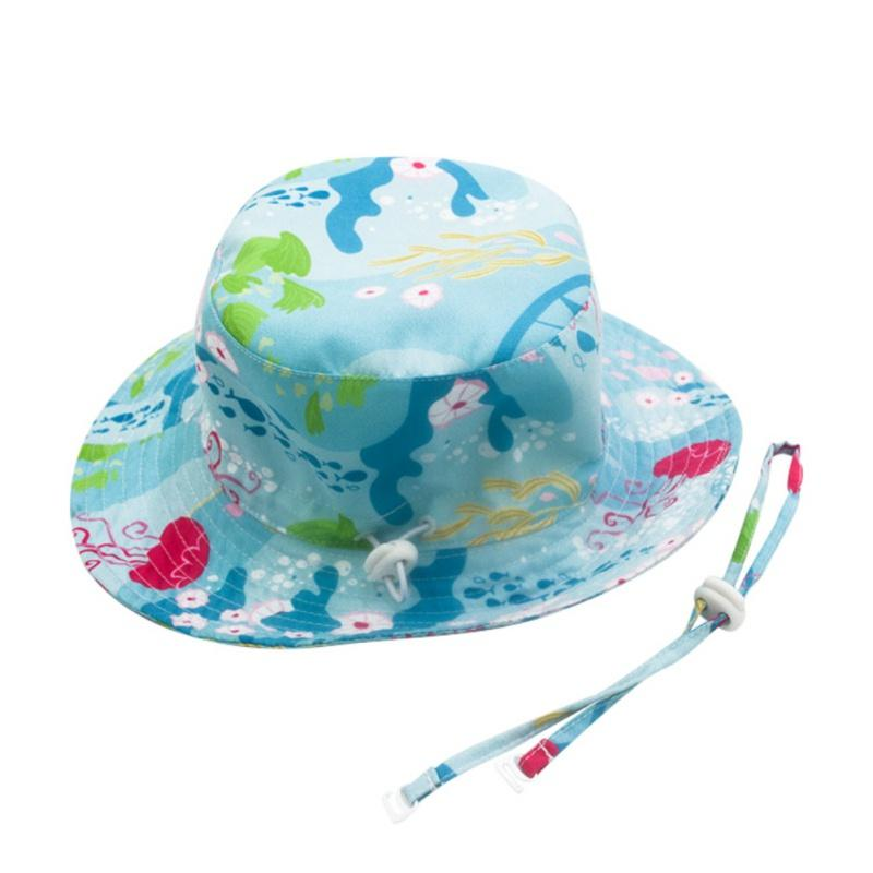 Summer Baby Sun Hat Children Outdoor Neck Ear Cover Anti UV Protection Beach Caps Boy Girl Swimming Hats For 0-8 Years72
