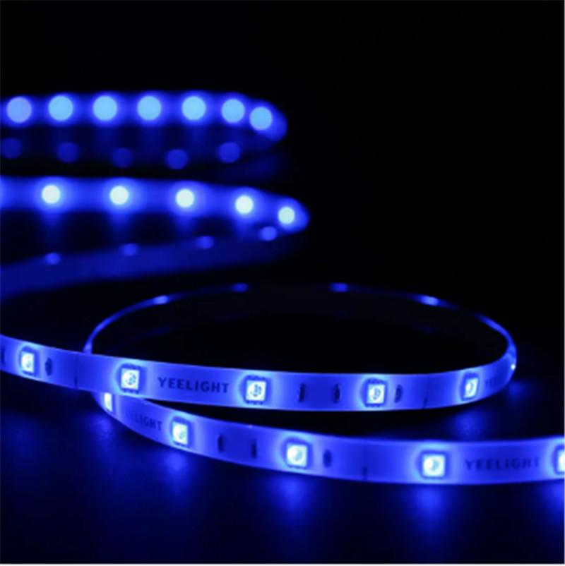 Xiaomi Yeelight Смарт Light Strip PLUS 1m LED RGB цвет полосы света Работа Alexa Google Assistant Mi Home Automation 3008951Z3