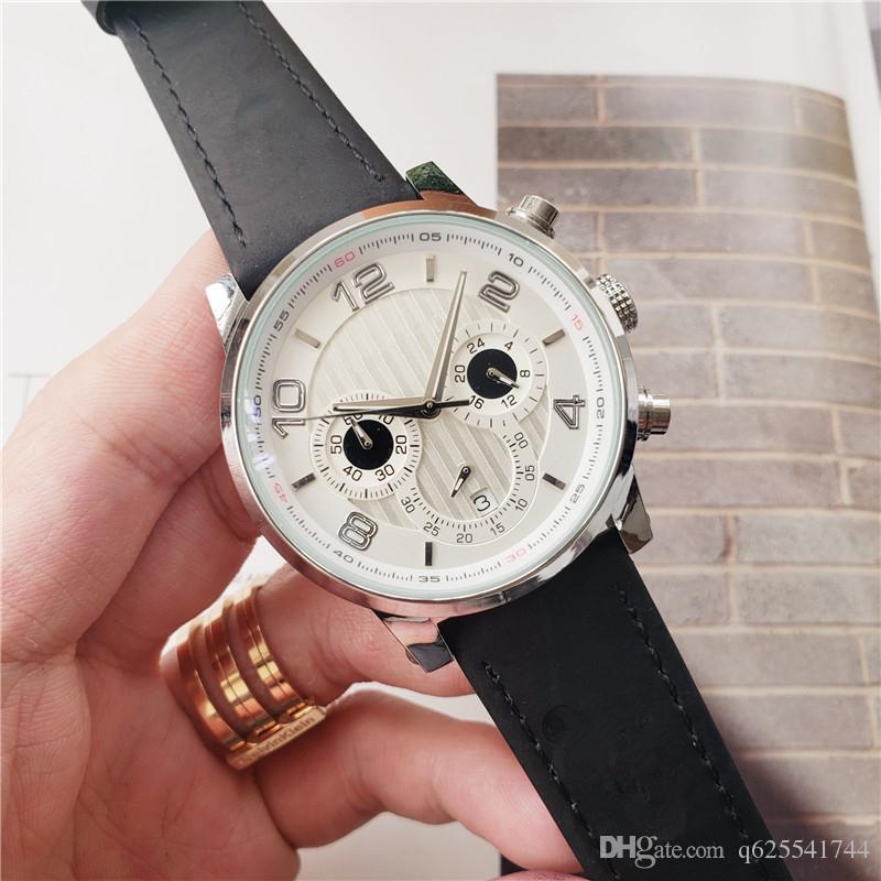 2018 New All Subdials Работа многофункциональные мужские часы Hardlex Sport Кварцевые наручные часы Секундомер Роскошные часы Лучший бренд для мужчин relojes Bes