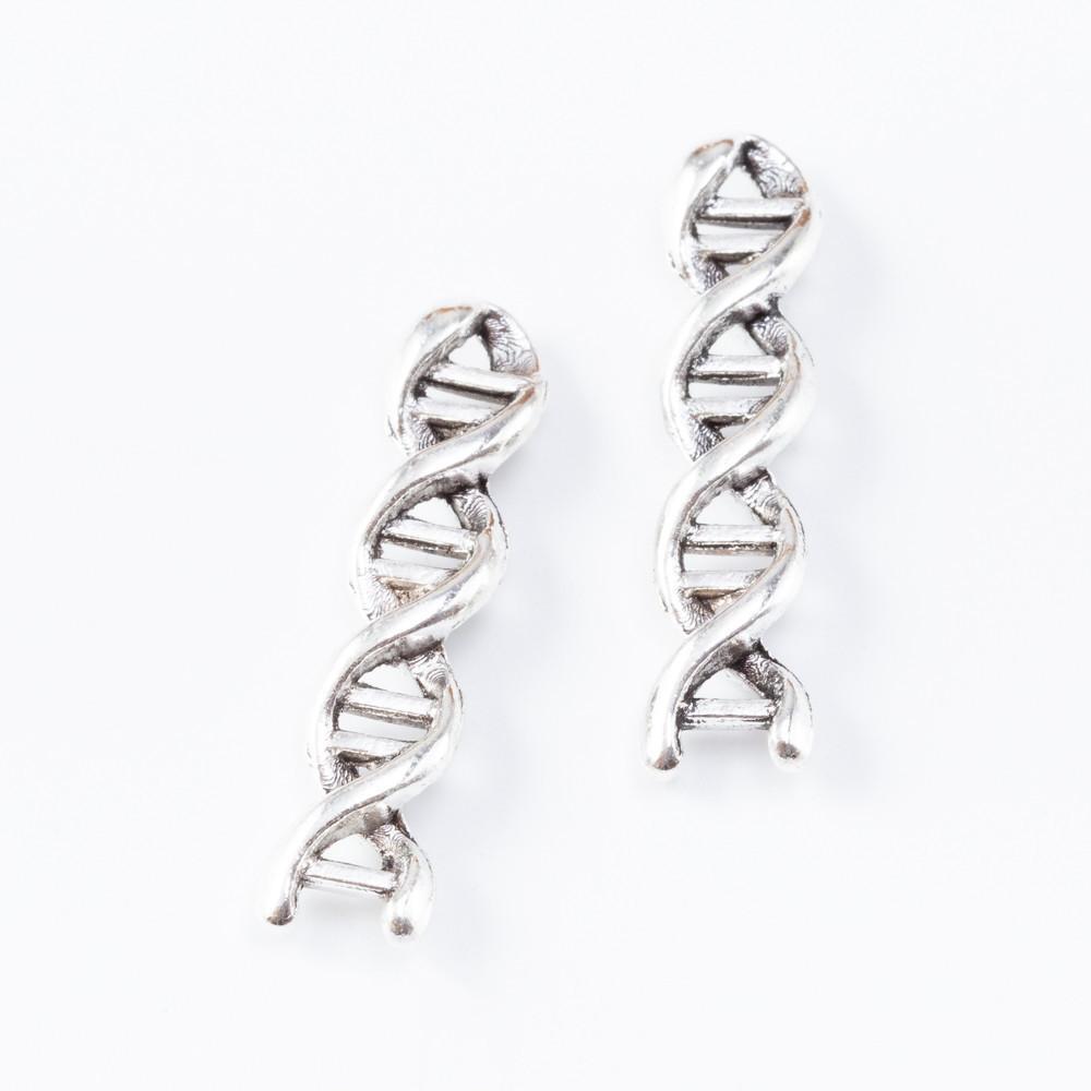 bilezik, kolye için 50 adet 28MM Vintage gümüş antika madde DNA Gen dizisi takılar kolye takı yapımı küpe