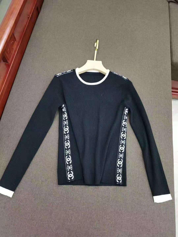 1128 2020 Sping di trasporto di marca degli stessi di stile pullover girocollo Maglione di lusso di modo delle donne vestiti QIAN