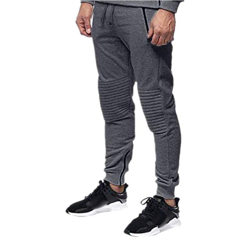 Pantalon Designer Hommes solide Couleur d'automne et d'hiver Casual Polaires droit épais Cargo Pantalons Pantalons Hommes Mode Sweatpants piste