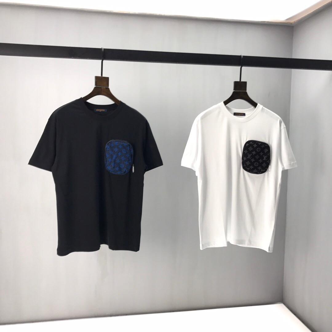 İlkbahar ve yaz yeni erkek tişört rahat tasarımcı erkek kısa kollu tişört yuvarlak boyun erkek ve kadın üstleri tişört boyut S-2XL d246