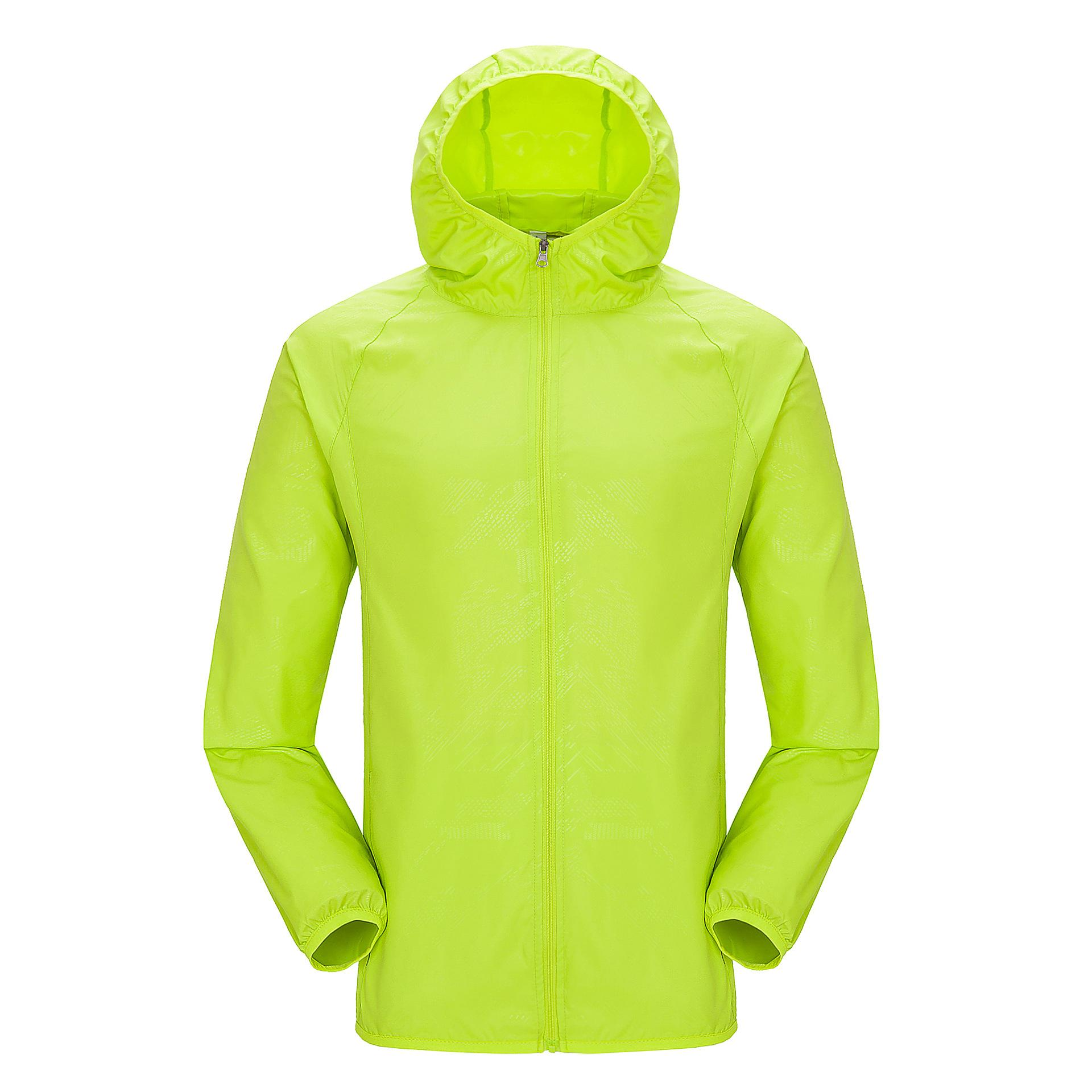2019 Outdoor Sports Trench Coat Men And Women Waterproof Sun Protection Clothing Beach Thin Coat Customizable Logo