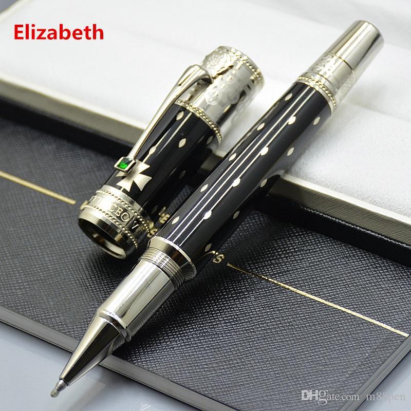 الفاخرة قلم الترويج طبعة محدودة اليزابيث الكرة الدوارة القلم المكاتب التجارية القرطاسية الكرة الكلاسيكية الأقلام هدية