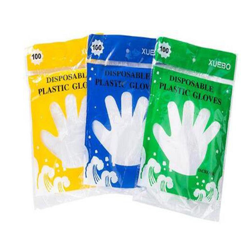 환경 친화적인 가정 부엌 가공 식품을 위한 플라스틱 처분할 수 있는 장갑 대중음식점 가정 서비스 체더링 위생
