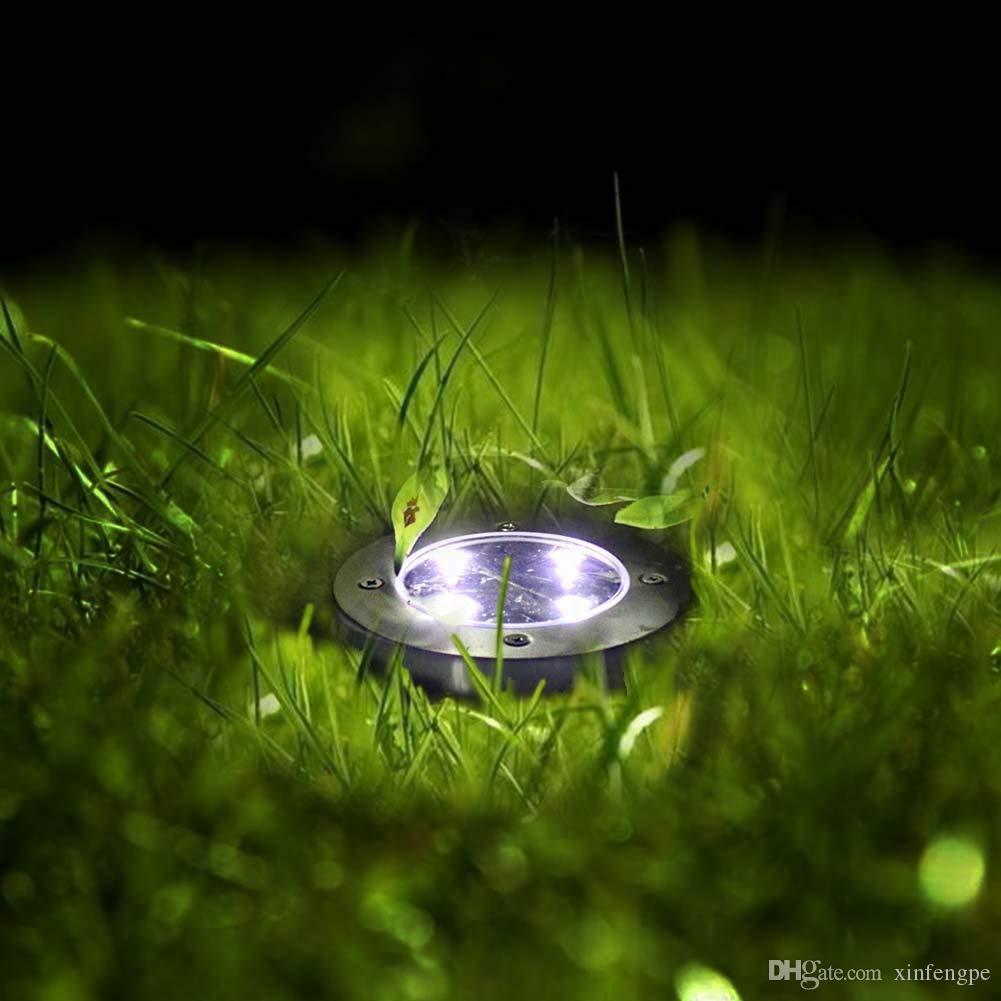 أضواء حديقة LED الضوء في الهواء الطلق ضوء المشهد الإضاءة الفولاذ المقاوم للصدأ مسار ضوء للمشي الفناء يارد ممر العشب