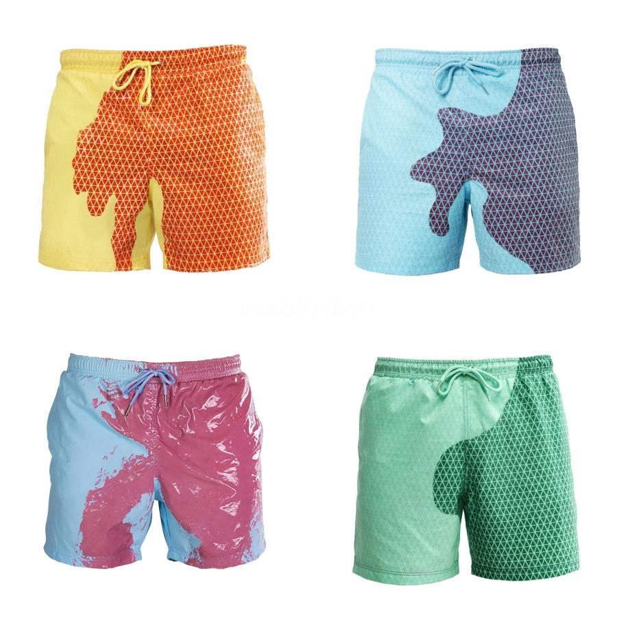 Bademode Herren Badehose Herren Badehose Trunk Brett Hosen Strand Shorts Schwimmen für Männer 2020 Neue Kleidung # 962
