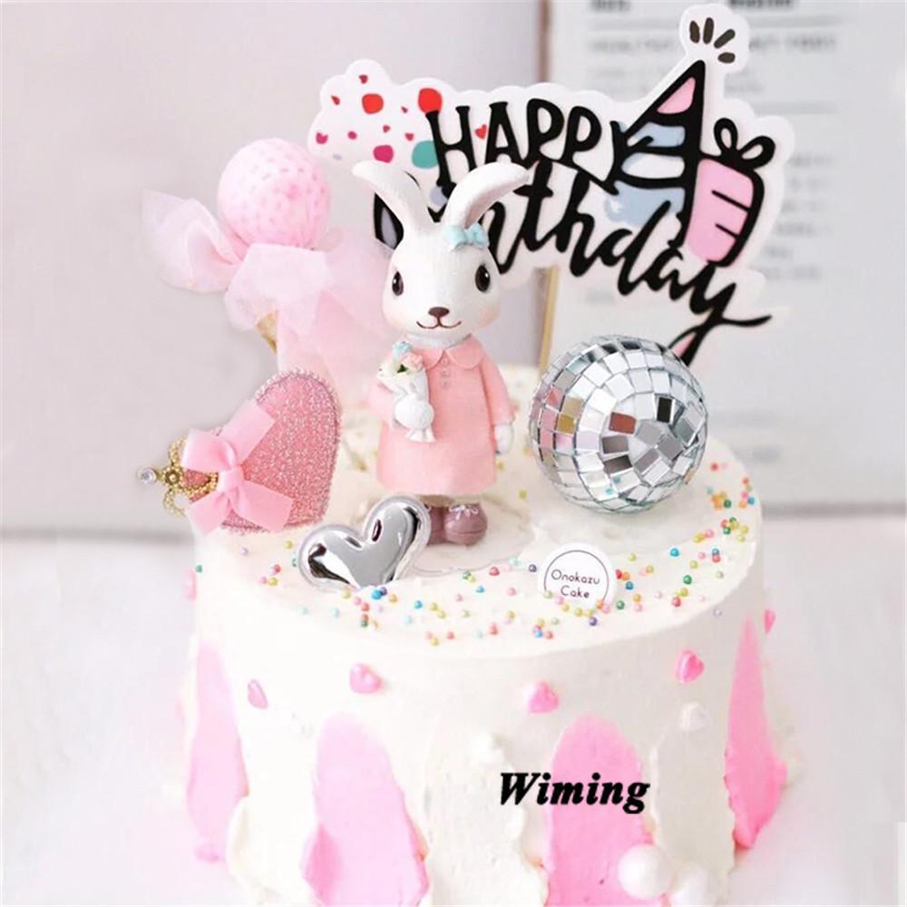 Pleasing 2020 Cake Topper Toys For Children Girl Birthday Party Decorations Personalised Birthday Cards Veneteletsinfo