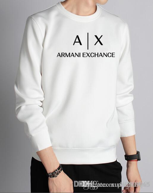 T-shirt de mangas compridas dos homens jovens outono-inverno versão coreana da jaqueta gola jaqueta gola redonda