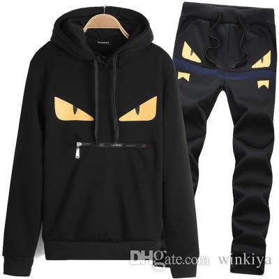 Sweatsuit Sweat Suit Menshoodies-Marken-Kleidung 2019 Mens Designer Tracksuits Jackets Sportswear Sets Jogginganzüge Hoodies Männer