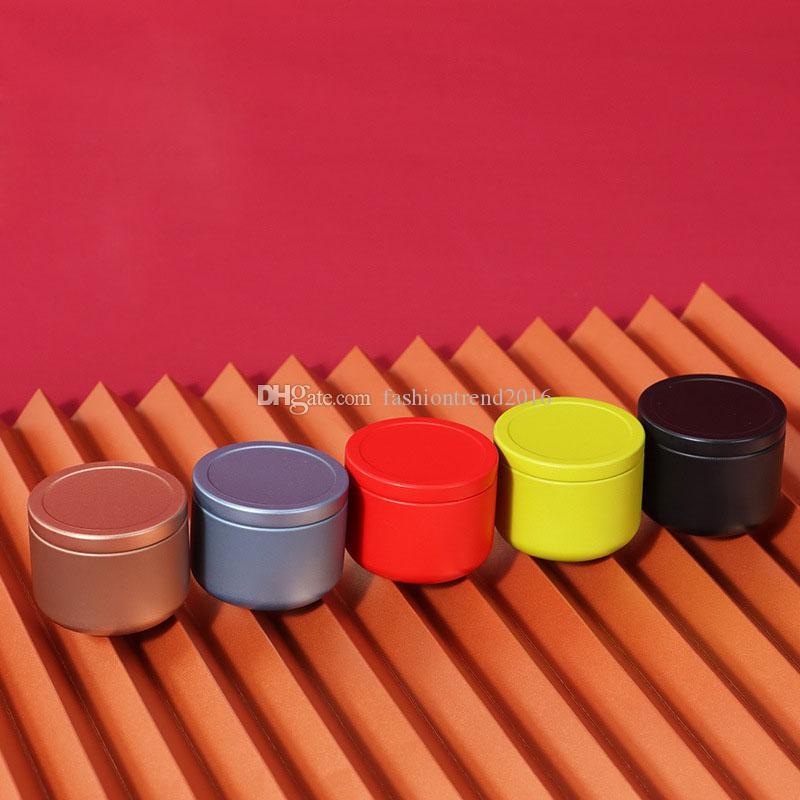 Mini Travle metallo contenitori di latta Herb Stash Storage Box Vaso di tè Sealed Can gadget da cucina